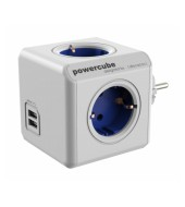 Allocacoc PowerCube Original USB - modrá (8718444082262)