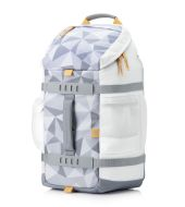 Ruksak HP Odyssey - facets white (5WK92AA)