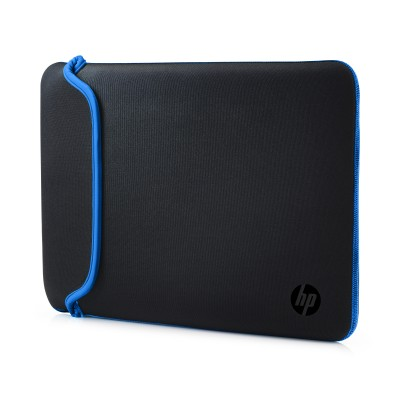 "Puzdro reversible sleeve 14"" - black + blue"