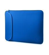 "Puzdro reversible sleeve 14"" - black + blue (V5C27AA)"